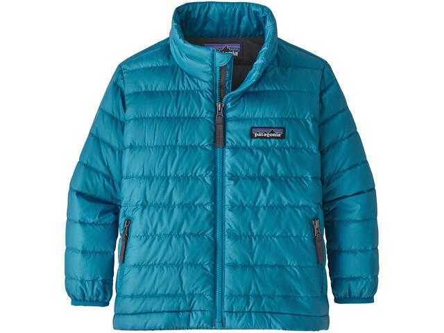 Patagonia Down Sweater Kids Balkan Blue/Forge Grey